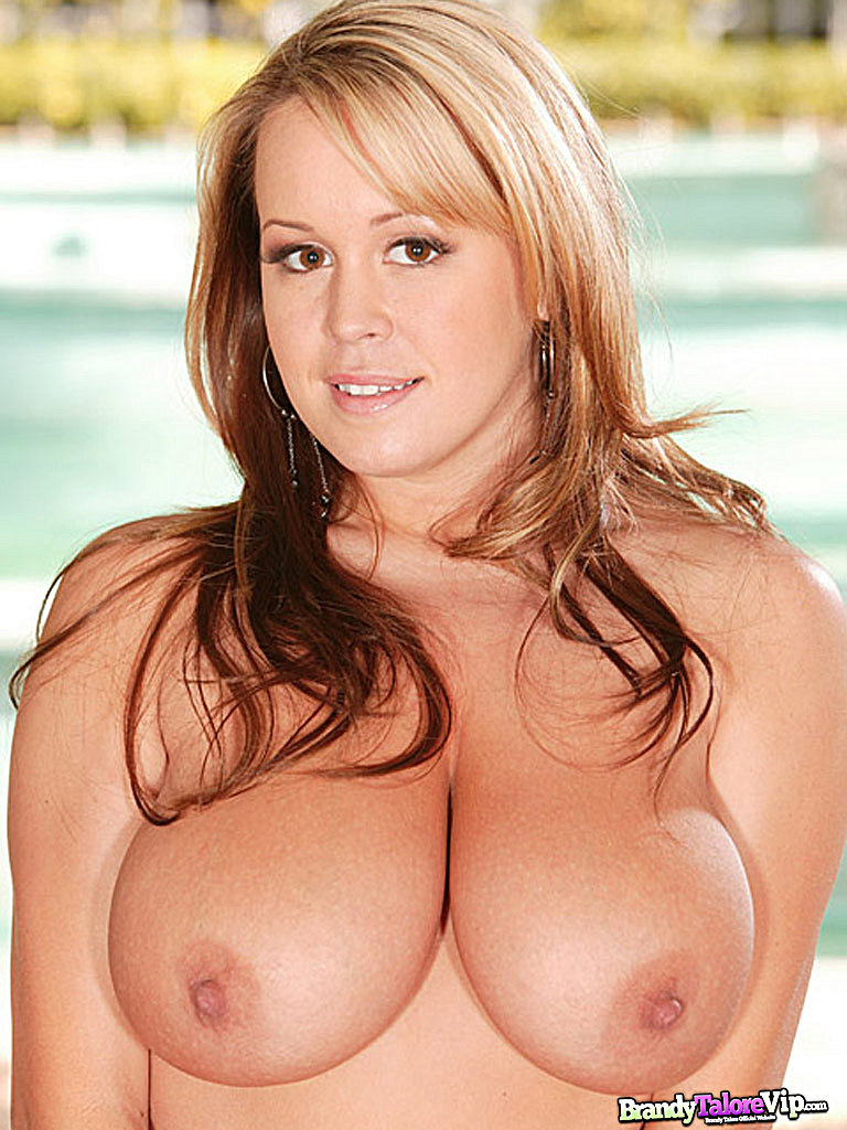 Brandy Talore 36DDD topless natural breasts blonde busty curves hardcore Brandy Taylor